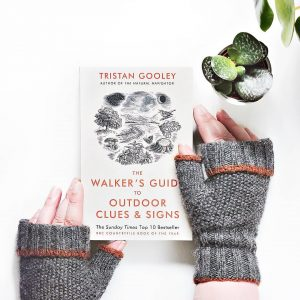 graine knitted mitts